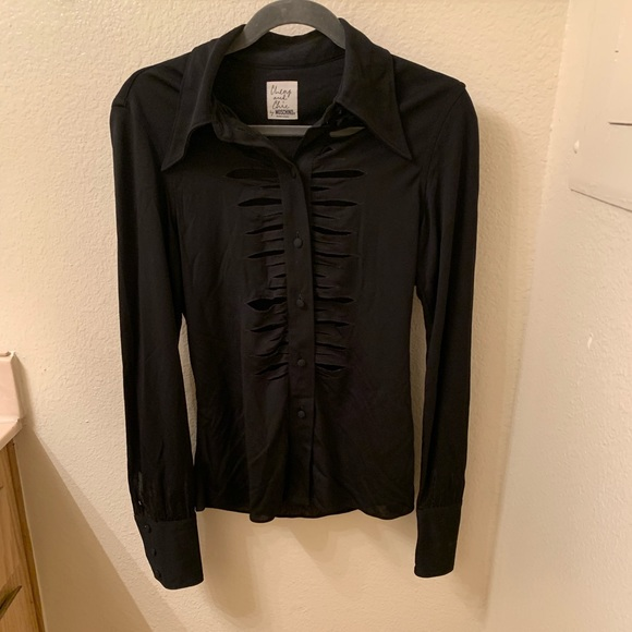 Moschino Jackets & Blazers - Blouse by Moschino Medium